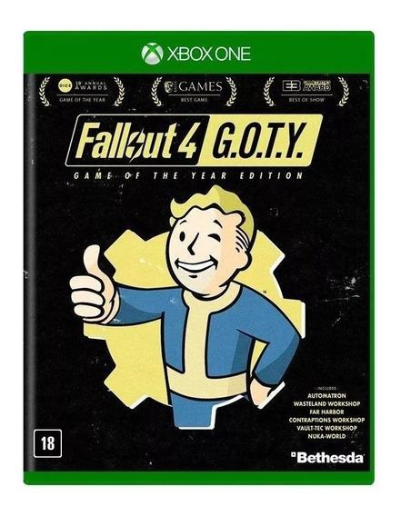Fallout 4 G.o.t.y Xbox One Mídia Física Nacional Lacrado Rj