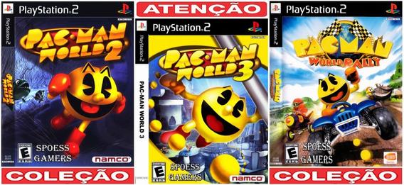 Pac-man Ps2 Coleção (3 Dvds) Patch