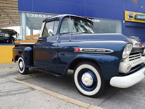 Chevrolet Apache 1959 Un Clásico, Para Conocedores.
