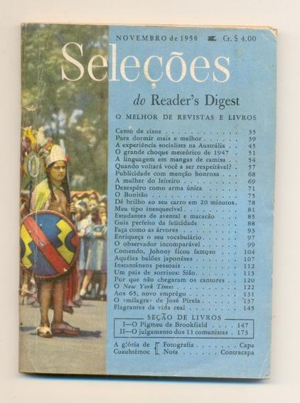 *sll* Revista Seleções Do Readers Digest - Novembro De 1950
