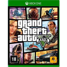 Jogo Grand The Gta V - Xbox-midia Fisica