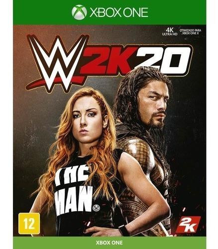 Wwe 2k20 Xbox One Mídia Digital + 1 Jogo Grátis!