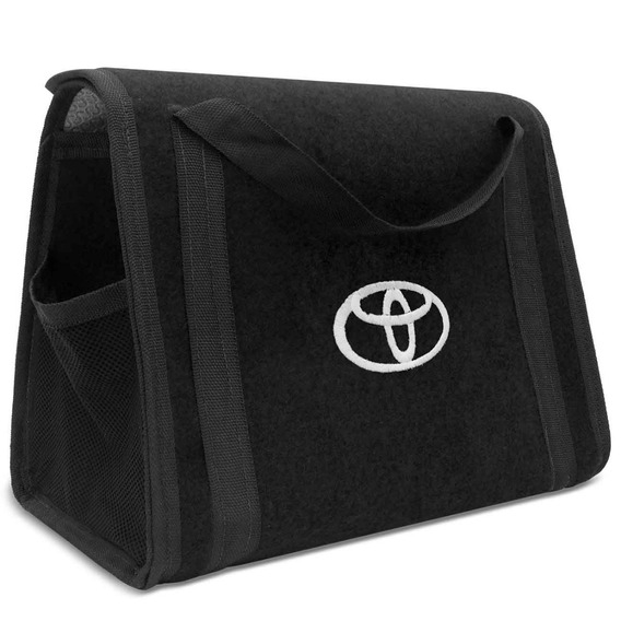 Bolsa Organizadora Multiuso Porta Malas Toyota Carpete Preto