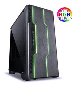 Pc Gamer Cpu I7 7ºg 7700 Ssd 240gb Gtx 1050 Ti 4gb