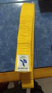 Cinturón Amarillo De Artes Marciales