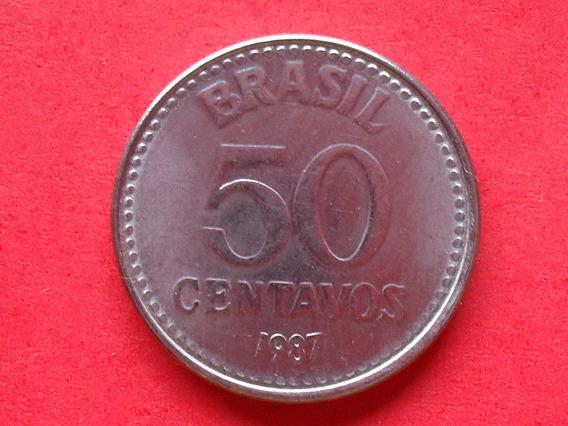 Moeda De 50 Centavos De 1987 - U. T. G.