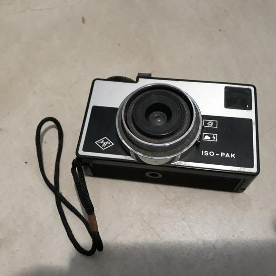 Câmera Fotografica Analógica Agfa Iso Pak 126