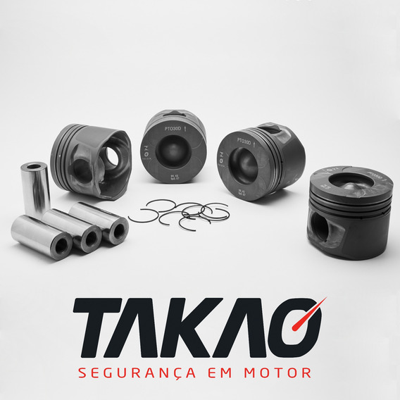 Jogo De Pistao Toyota Hilux Srv 3.0 16v 1kd 04-12 Turbo