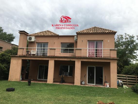 Alquiler De Casa .barrio El Buen Retiro Pilar