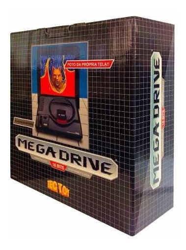 Console Mega Drive Ed. Limitada Tectoy 1700 Jogos 1 Joystick