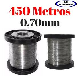 Arame Resistência Chuveiro Fio De Aço Inox 0,70mm 450 Metros