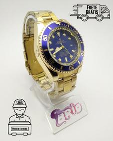 Relógio Masculino Rolex Deepsea Aço Dourado Top Lançamento