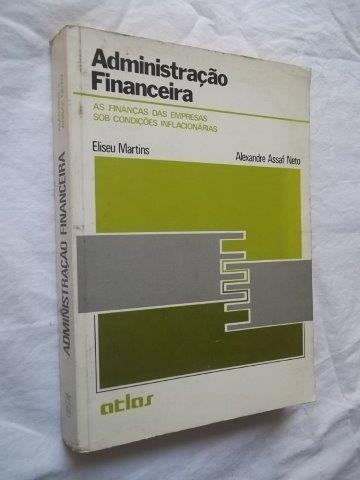 * Administração Financeira - Eliseu Martins - Livro