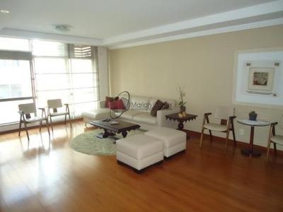 Maravilhoso Apartamento 3 Quartos, Completamente Mobiliado Em Icaraí. - Al6346