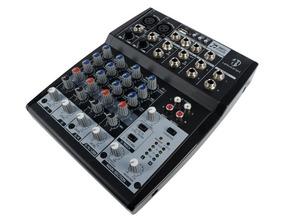 Mesa De Som 8 Canais Usb Efeitos Mixer Hmx-108 Hayonik