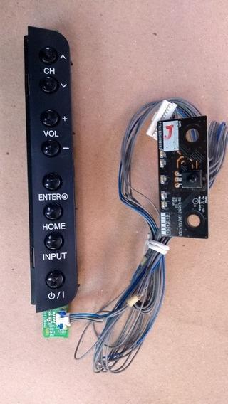 Teclado Com Sensor Tv Lg 32lk331c