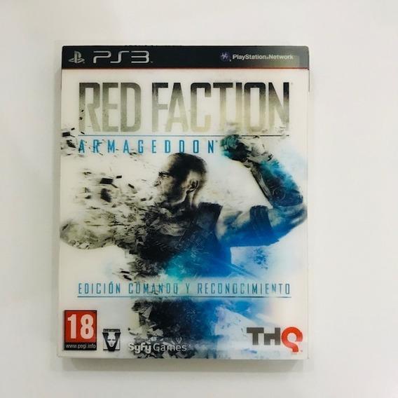 Red Faction Armageddon Ps3 Mídia Física Lacrado