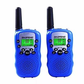 Par De Rádio Walk Talk Comunicador Baofeng Bf T3 Alcance 3km