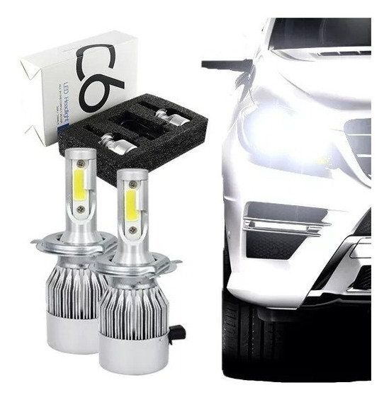 Kit Lampada Led Automotiva H1/h3/h4/h7/h11/hb3/hb4/h27 Xenon