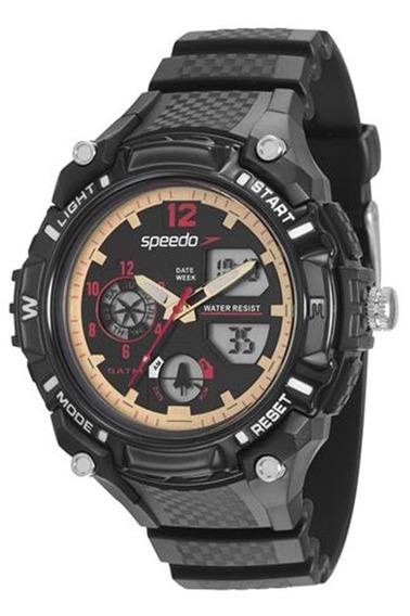 Relógio Speedo Masculino Preto 81128g0evnp3