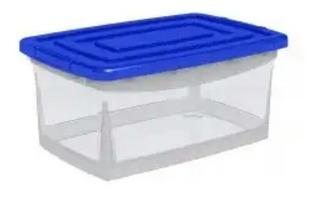 Tres(3). Cajas Organizadoras De Plástico 32 Litros.