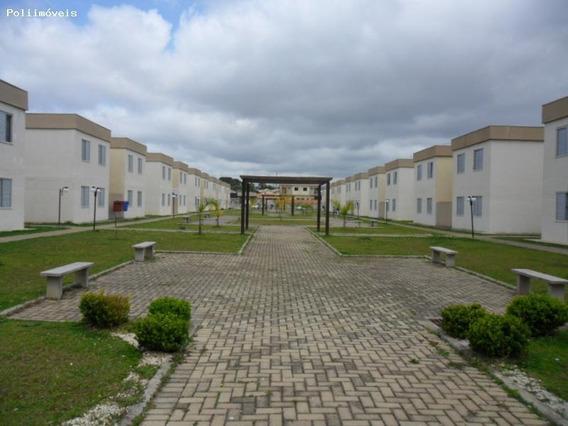 Apartamento Para Venda Em Fazenda Rio Grande, Eucaliptos, 2 Dormitórios, 1 Banheiro, 1 Vaga - Ca0253