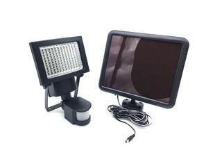 Refletor Solar 120 Leds 1100 Lumens Com Sensor De Presença