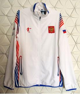 Seleção Rússia De Basquete Blusão Jaqueta Da Universíada Verão 2019 M Em Turim Itália, Original E Oficial Zerada Sem Uso