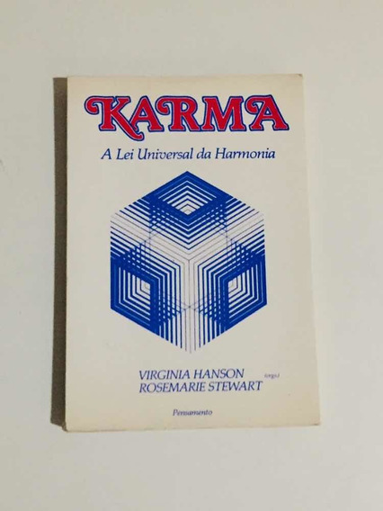 Livro Karma - A Lei Universal Da Harmonia ( Virginia Hanson)