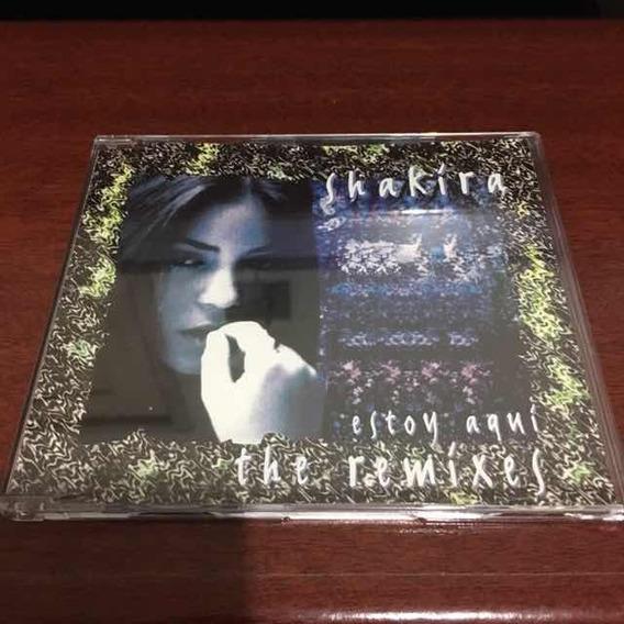 Cd Shakira - Estoy Aqui (the Remixes) Made In Japan