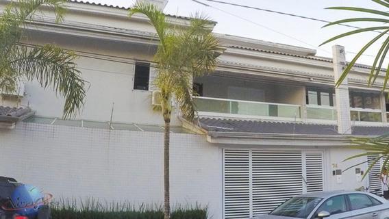 Sobrado 04 Dormitórios 02 Suítes, Churrasqueira - Boqueirão - Praia Grande/sp - Ca3607