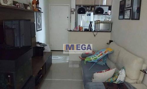 Imagem 1 de 24 de Apartamento Com 2 Dormitórios - Condomínio Água Branca, 48 M² Por R$ 210.000 - Loteamento Parque São Martinho - Campinas/sp - Ap3972