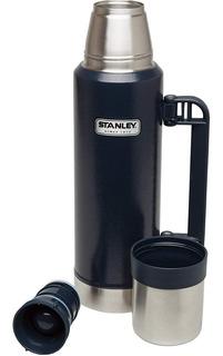 Termo Stanley Clasico 1,3l Acero Inox Tapon Cebador
