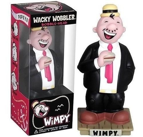 Personaje Wimpy Popeye Wacky Wobbler Funko Retro Rdf1