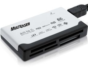 Leitor De Cartão Universal Externo Multilaser Ac076 46 Em 1