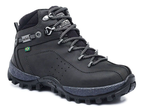 Bota Adventure Cano Alto Infantil Macboot Guarani 12 Grafite