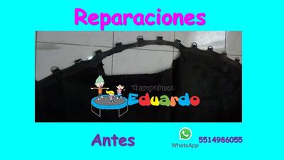 Reparacion Trampolin Brincolin Cama Malla Elastica