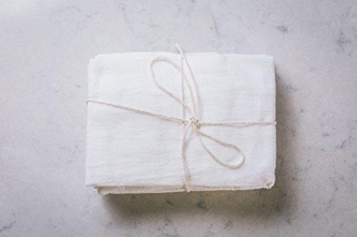 Paquete De 3 Panes Para Hacer Queso Paño Para Drenar Y CoLG