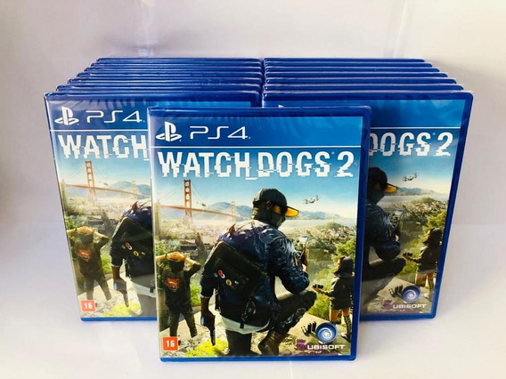 Jogo Watch Dogs 2 Playstation 4 Original Mídia Física