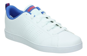 Tenis adidas Vs Advantage Clk Blanco/marino Db0686