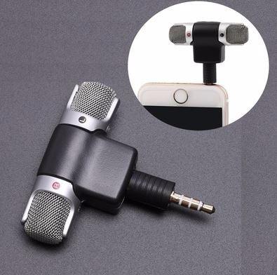 Microfone Mini Stéreo P3 Celular Android iPhone Câmera