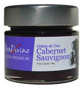 Geleia De Uva Cabernet Sauvignon 190g - Don Divino