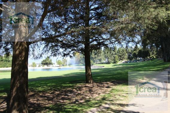Terreno Al Campo De Golf Frente Al Lago- Club De Golf Los Encinos