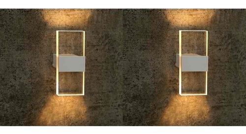 Imagem 1 de 4 de 2 Arandela Interna G9 Cabeceira Banheiro Sala Branca Ali18