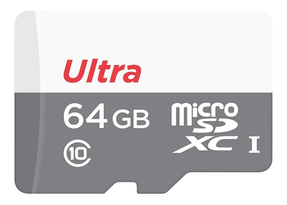 Cartao Memoria Micro Sdxc Ultra 80mb/s 64gb Sd Gopro Hero 3