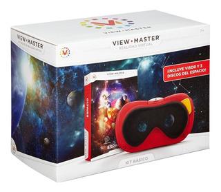 Lentes Realidad Virtual Con 3 Discos Del Espacio