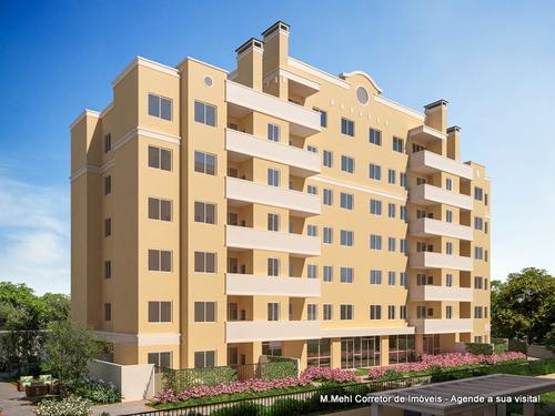 Apartamento Com 2 Dormitórios À Venda Com 100m² Por R$ 263.000,00 No Bairro Neoville - Curitiba / Pr - M2ne-sn203c