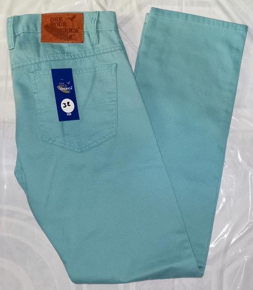 Pantalón De Gabardina Para Caballero