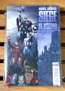Marvel Omnibus Siege El Asedio