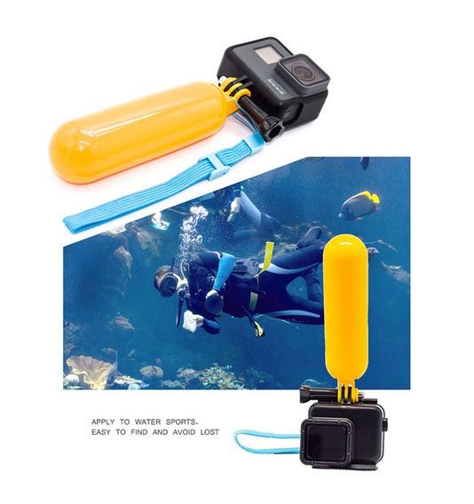 Bastão De Mão Boia Flutuante Para Gopro 2 3 3+ 4 5 6 Action